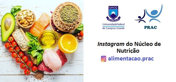 Núcleo de Alimentação lança Instagram